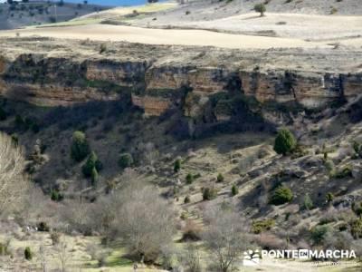 Senderismo Segovia - Riberas de los ríos Pirón y Viejo; pedraza viaje; trekking mochilas